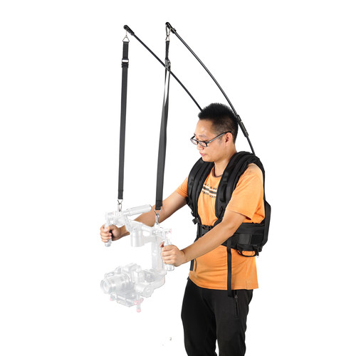 CAME-TV Carbon-Fiber Twin-Rod Gimbal Support System
