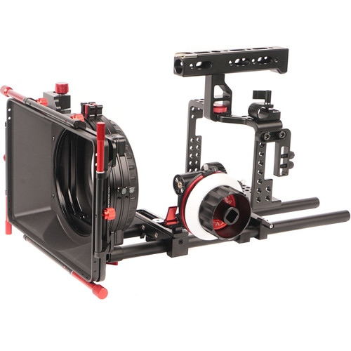CAME-TV Rig Mattebox Follow Focus Kit for Sony A7RII Camera
