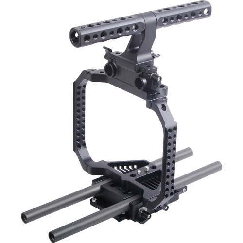 CAME-TV Protection Cage with Top Handle for Blackmagic Cinema Camera