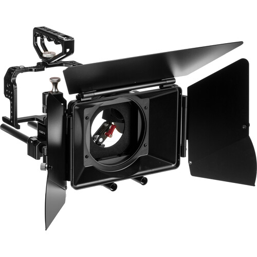 CAME-TV Protective Cage for GH4 with 15mm LWS Rods, Matte Box, & Follow Focus