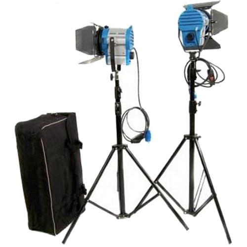 CAME-TV 650W Tungsten Fresnel 2-Light Kit