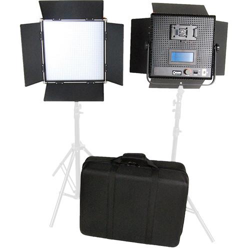 CAME-TV High CRI Digital 1024 Daylight LED 2 Light Kit