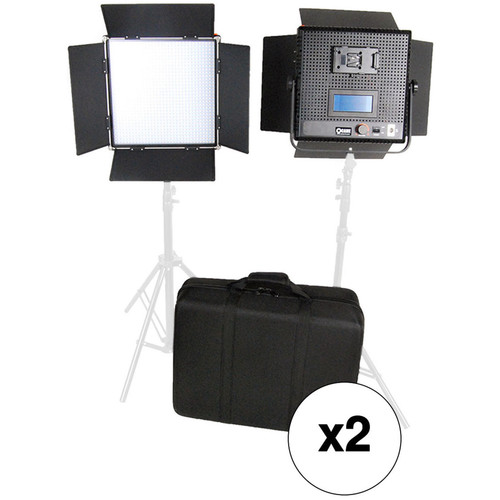 CAME-TV High CRI Digital 1024 Daylight LED 4-Light Kit