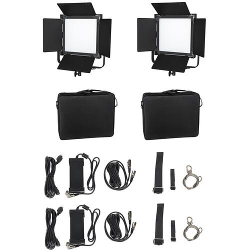 CAME-TV L2000S High CRI Bi-Color SMD LED Panel 2-Light Kit