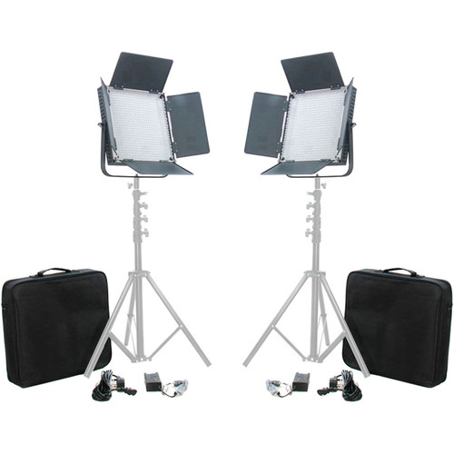 Misc L900 LED Video Daylight 2-Light Studio Broadcast Lighting Kit