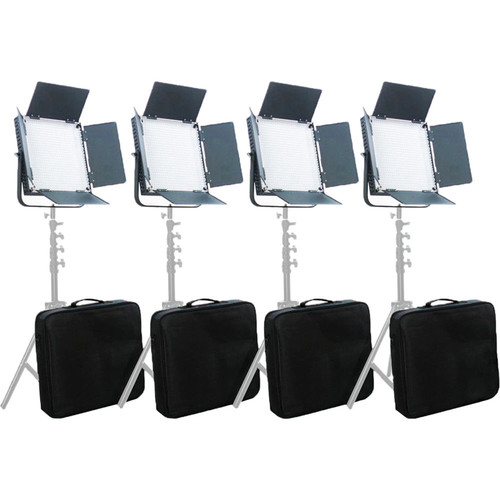 Misc L900 LED Video Daylight 4-Light Studio Broadcast Lighting Kit