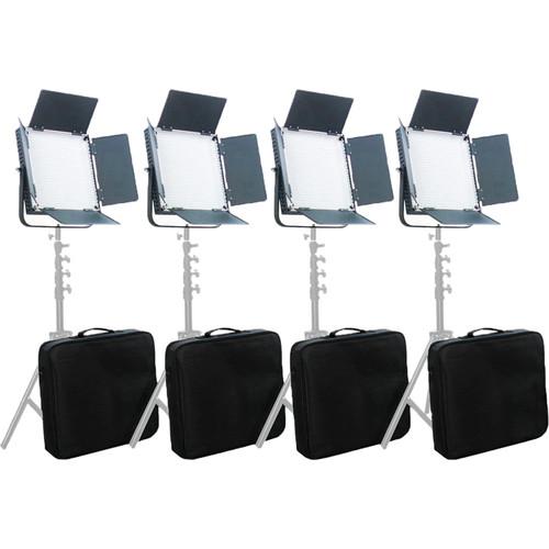 CAME-TV High CRI 900 Bi-Color LED Four Light Kit