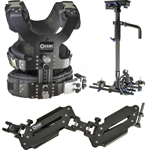 CAME-TV Pro Camera Stabilizer with Aluminum Case