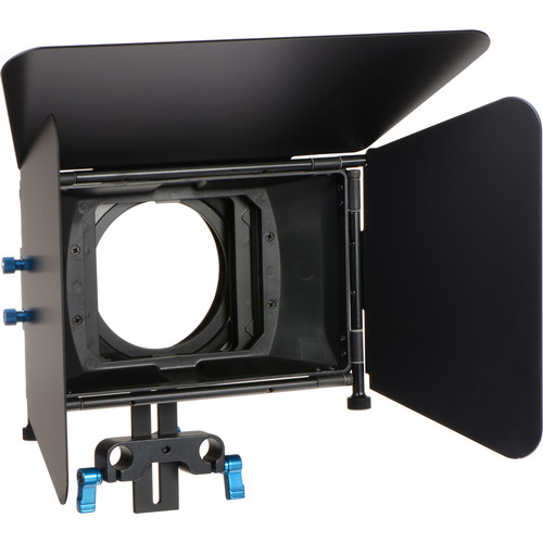 CAME-TV L-M3 DSLR Matte Box with Top and Side Flags for LWS 15mm Rods