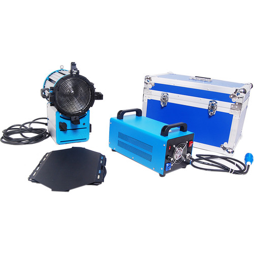 CAME-TV 1200W HMI Fresnel Kit with Dimmable Electronic Ballast and Case