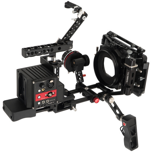 CAME-TV Terapin Rig with Follow Focus and Matte Box for Panasonic GH5 and GH4