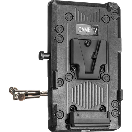 CAME-TV V-Lock Plate with Clamp, Rod Mount, and D-Tap