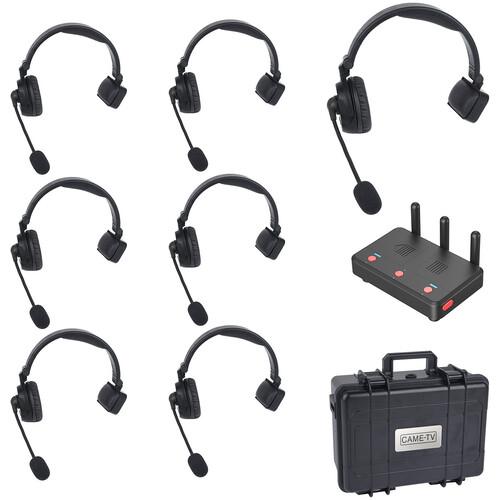 CAME-TV WAERO Duplex Wireless Headset Set with Hub (7-Pack, EU)