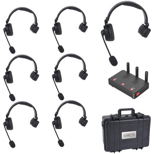 CAME-TV WAERO Duplex Wireless Headset Set with Hub (7-Pack, US)