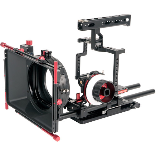 CAME-TV Guardian Cage for GH5/GH4/a7S Camera Rig with Matte Box and Follow Focus