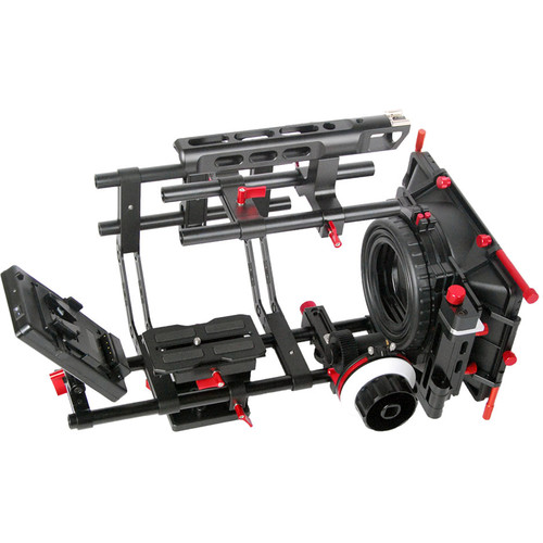 CAME-TV DSLR Kit with Mattebox/Follow Focus/V-Mount