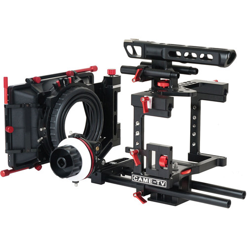 CAME-TV DSLR Cage Kit for Panasonic GH4, Sony a7S, and Canon 5D Mark III