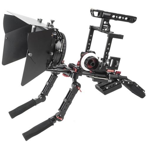 CAME-TV Comprehensive Shoulder Rig for DSLR & Mirrorless Cameras