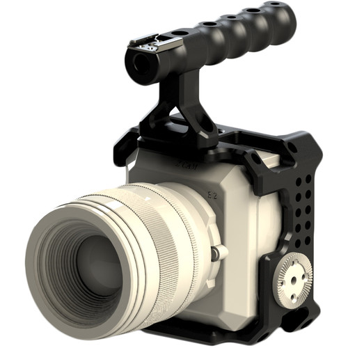 CAME-TV Modular Cage Kit with Top Handle for Z Cam E2 Camera