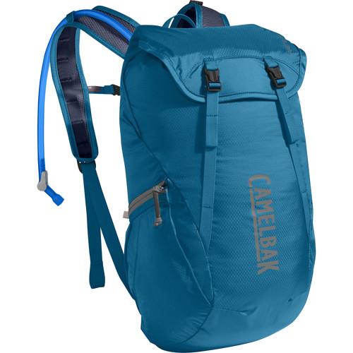 CAMELBAK Arete 18 Hiker Hydration Pack (50 oz, Grecian Blue/Navy Blazer)