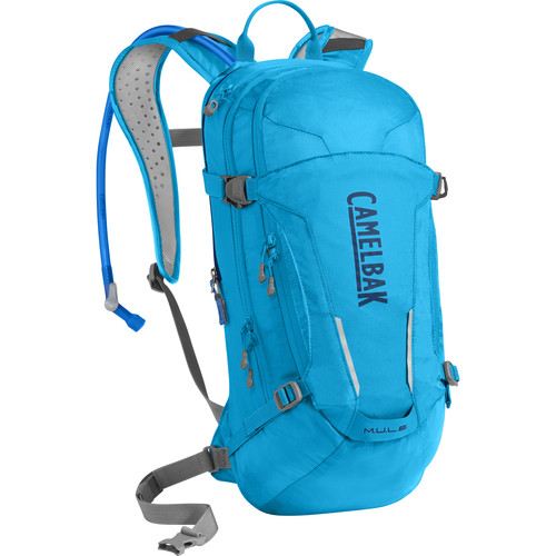 CAMELBAK M.U.L.E. 100 Ounce Biker Hydration Pack (Atomic Blue / Pitch Blue)