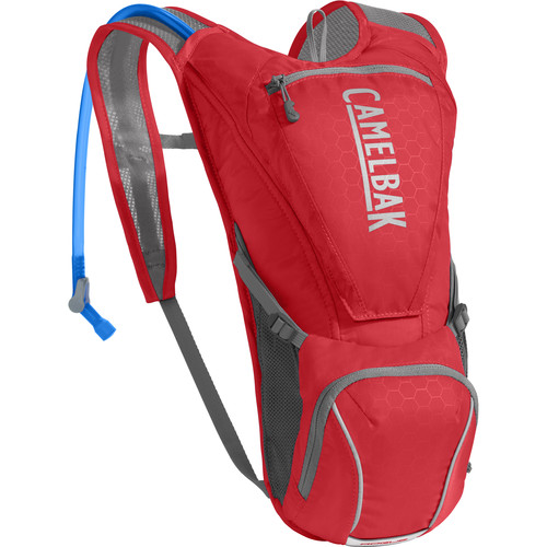 CAMELBAK Rogue 85 oz Biker Hydration Pack (Racing Red/Silver)