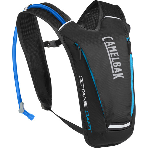 CAMELBAK Octane Dart 50oz Running Hydration Pack (Black / Atomic Blue)