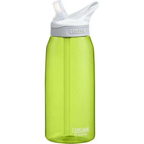 CAMELBAK eddy Water Bottle (32 fl oz, Limeade)
