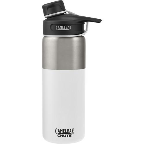 CAMELBAK Chute Vacuum Insulated Stainless Water Bottle (20 fl oz, White)