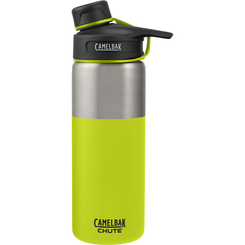 CAMELBAK Chute Vacuum Insulated Stainless Water Bottle (20 fl oz, Lime)