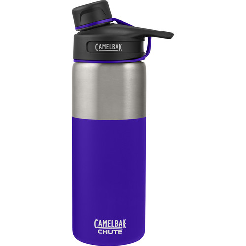 CAMELBAK Chute Vacuum Insulated Stainless Water Bottle (20 fl oz, Violet)