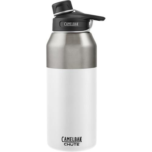 CAMELBAK Chute Vacuum Insulated Stainless Water Bottle (40 fl oz, White)