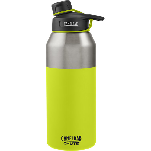 CAMELBAK Chute Vacuum Insulated Stainless Water Bottle (40 fl oz, Lime)