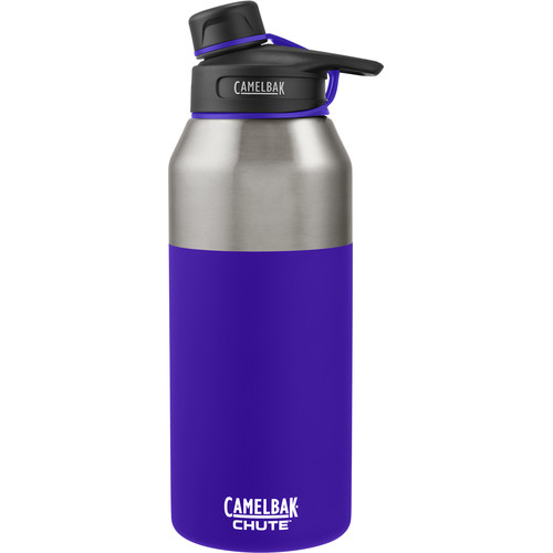CAMELBAK Chute Vacuum Insulated Stainless Water Bottle (40 fl oz, Violet)