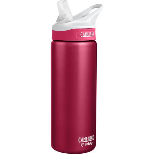 CAMELBAK eddy Vacuum-Insulated Stainless Steel Water Bottle (20 fl oz, Dragonfruit)