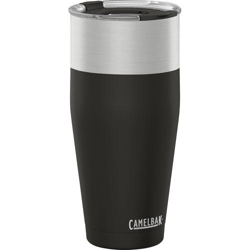 CAMELBAK KickBak Insulated Stainless Steel Travel Mug (30 fl oz, Obsidian)