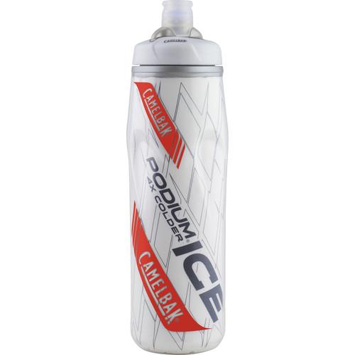 CAMELBAK Podium Ice Sport Water Bottle (21 fl oz, Crimson)