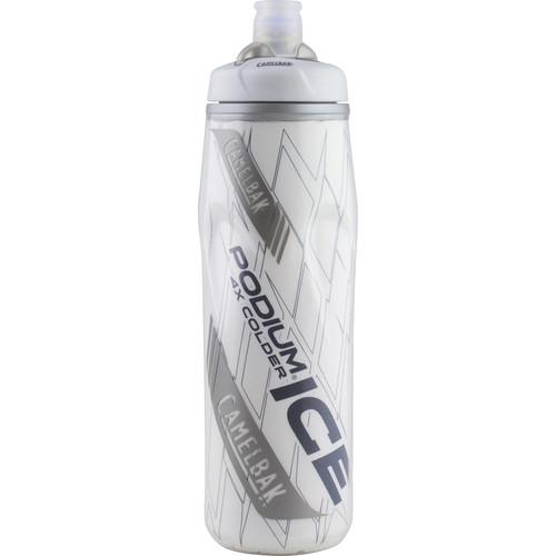 CAMELBAK Podium Ice 21 oz Sport Water Bottle (Silver)