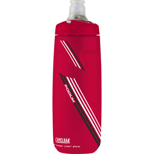 CAMELBAK Podium Sport Water Bottle (24 fl oz, Rally Red)