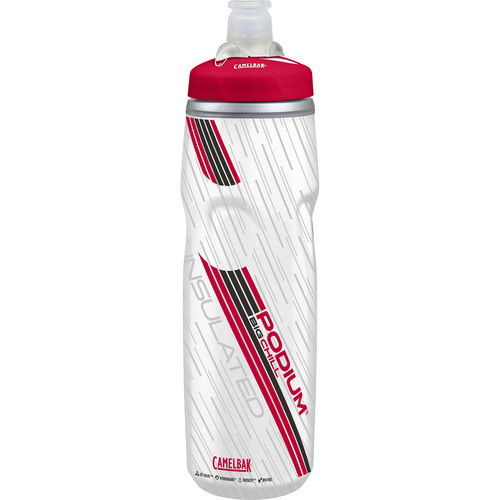 CAMELBAK Podium Big Chill Sport Water Bottle (25 oz, Red)