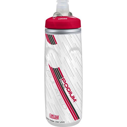 CAMELBAK Podium Chill Sport Water Bottle (21 fl oz, Red)