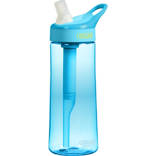 CAMELBAK Groove Water Bottle (20 oz, Aqua)