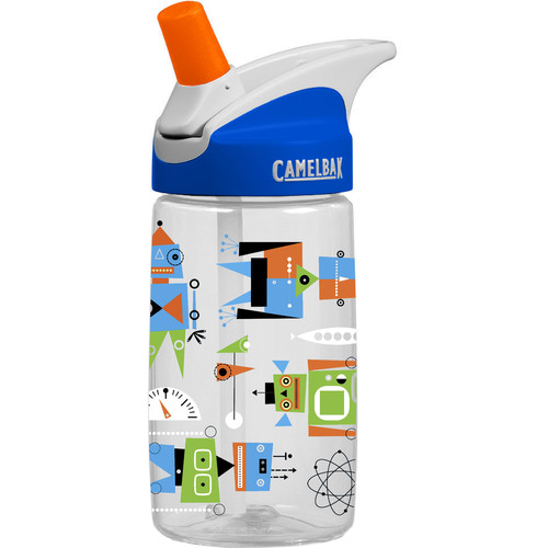 CAMELBAK 0.4L eddy Kids Water Bottle (Atomic Robots)