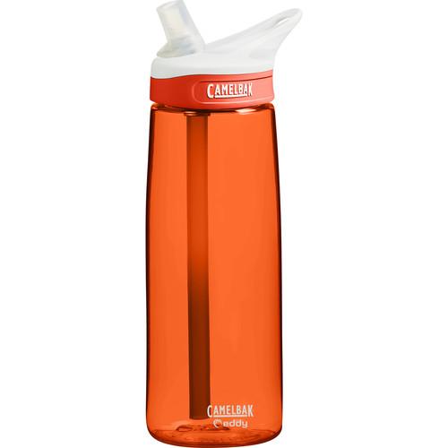 CAMELBAK eddy Water Bottle (25 fl oz, Lava)