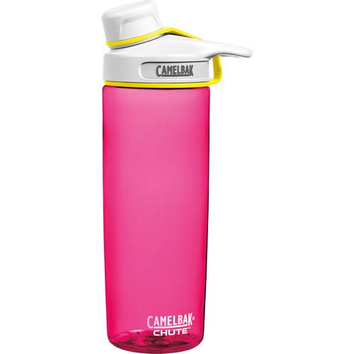 CAMELBAK Chute Water Bottle (20 fl oz, Pow Pink)
