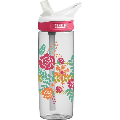 CAMELBAK eddy Water Bottle (20 fl oz, Floral Headband)