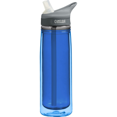 CAMELBAK eddy Insulated Water Bottle (20 fl oz, Sapphire)