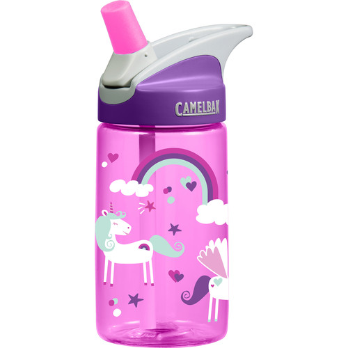 CAMELBAK eddy Kids Water Bottle (12 fl oz, Unicorns)