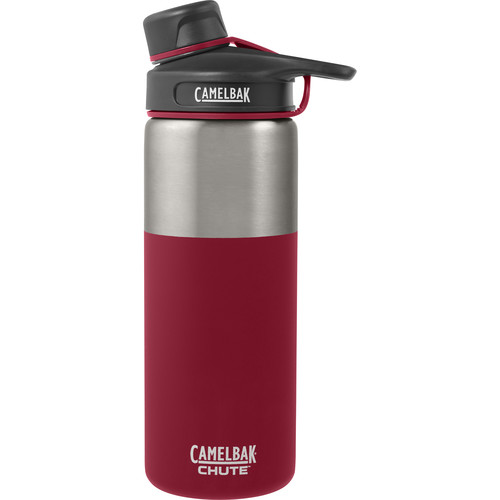 CAMELBAK Chute Vacuum Insulated Stainless Water Bottle (20 fl oz, Brick)