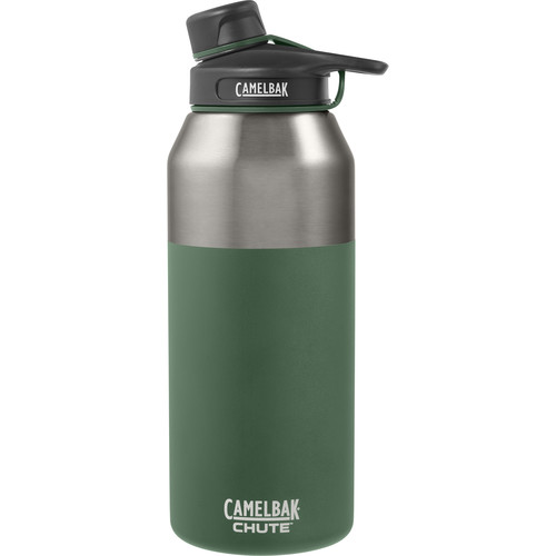 CAMELBAK Chute Vacuum Insulated Stainless Water Bottle (40 fl oz, Evergreen)
